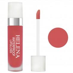 رژ لب مایع مات مخملی گیاهی 24 ساعته هلنا شماره 07 Helena Liquid Lip Gloss
