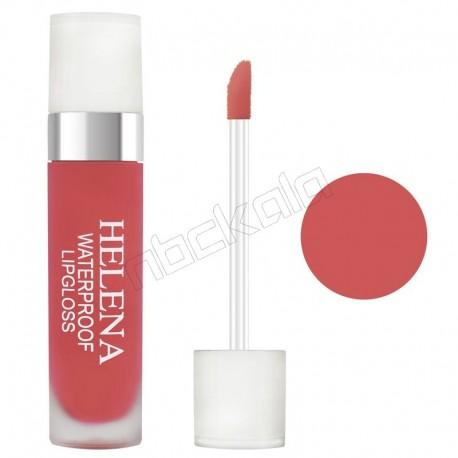 رژ لب مایع هلنا براق شماره 07 Violet Liquid Lip Gloss