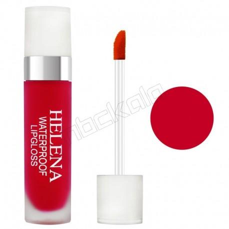 رژ لب مایع هلنا براق شماره 09 Violet Liquid Lip Gloss