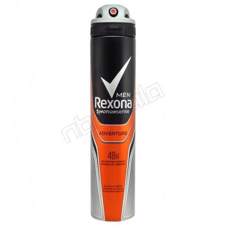 اسپری ضد تعریق مردانه رکسونا مدل ادونچر Adventure حجم 200 میلی لیتر Rexona Adventure Antiperspirant Deodorant For Men