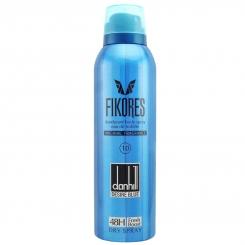 اسپری خوش بو کننده بدن فیکورس مردانه مدل دانهیل دیزایر بلو حجم 200 میلی لیتر Fikores Dunhill Desire Blue Body Spray For Men