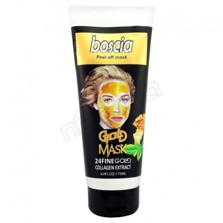 ماسک صورت بوسکیا مدل ماسک طلا حاوی عصاره کلاژن Boscia Gold Mask Collagen Extract 175 ml