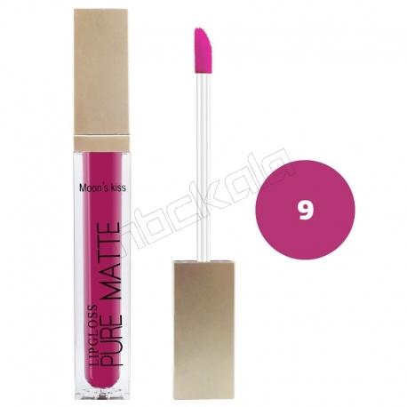 رژ لب مایع مونس کیس مدل ویتامینه ضدآب و با دوام شماره 8082 رنگ شماره 01 Moon's Kiss Waterproof Lip Gloss 24 Hours