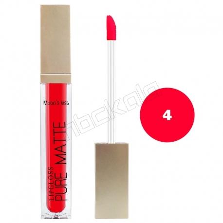 رژ لب مایع مونس کیس مدل ویتامینه ضدآب و با دوام شماره 8082 رنگ شماره 04 Moon's Kiss Waterproof Lip Gloss 24 Hours