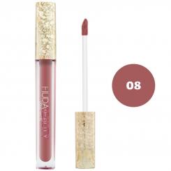 رژ لب مایع هدابیوتی مدل مات مدل لاک لب 24 ساعته شماره 08 Hudabeauty Liquid Matte Lipstick