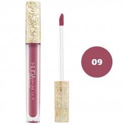 رژ لب مایع هدابیوتی مدل مات مدل لاک لب 24 ساعته شماره 09 Hudabeauty Liquid Matte Lipstick