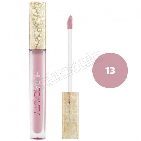 رژ لب مایع هدابیوتی مدل مات مدل لاک لب 24 ساعته شماره 13 Hudabeauty Liquid Matte Lipstick