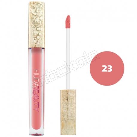 رژ لب مایع هدابیوتی مدل مات مدل لاک لب 24 ساعته شماره 23 Hudabeauty Liquid Matte Lipstick