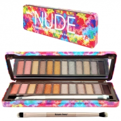 پالت سایه چشم نود رومانتیک بیوتی شماره 01 مدل 8830 Nude Romantic Beauty Eyeshadow Palette