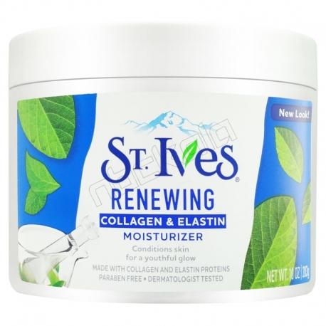 کرم جوان و مرطوب کننده استیوز حاوی کلاژن و الاستین 283 گرمی St. Ives Renewing Collagen & Elastin Moisturizer