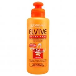کرم مو الویو لورآل کلاژن دار مخصوص موهای فر ضد یو وی L'Oreal Elvive Krul 200 ml