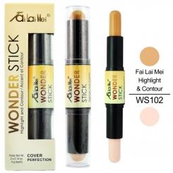 کانتور و هایلایت پوست فای لای می مدل واندر استیک شماره 102 Fai Lai Mei Wonder Stick Highlight & Contour