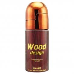 مام اسکلاری رولی مردانه مدل وود Sclaree Deodorant Wood Design For Men 50 ml