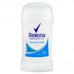 مام رکسونا صابونی مردانه زنانه شاور کلین 48 ساعته بادوام Rexona Deodorant Shower Clean 40 ml