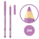 خط چشم خط لب خل اند کونتور بورژوآ ضدآب شماره 214 Bourjois Khol & Contour Waterproof Eyeliner Lipliner Pencil