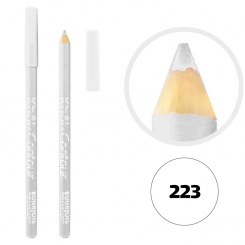 خط چشم خط لب خل اند کونتور بورژوآ ضدآب شماره 223 Bourjois Khol & Contour Waterproof Eyeliner Lipliner Pencil