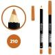 خط چشم خط لب دوسه ضدآب شماره 210 Doucce Waterproof Eyeliner Lipliner Pencil