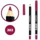 خط چشم خط لب گاش ضدآب شماره 202 Gosh Waterproof Eyeliner Lipliner Pencil
