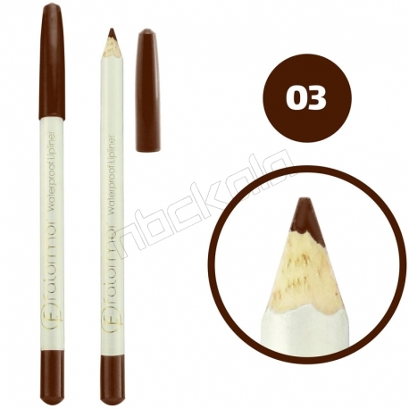 خط چشم خط لب فالورمور ضدآب شماره 03 Falormor Waterproof Eyeliner Lipliner Pencil