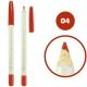 خط چشم خط لب فالورمور ضدآب شماره 04 Falormor Waterproof Eyeliner Lipliner Pencil