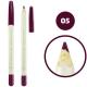 خط چشم خط لب فالورمور ضدآب شماره 05 Falormor Waterproof Eyeliner Lipliner Pencil