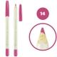 خط چشم خط لب فالورمور ضدآب شماره 14 Falormor Waterproof Eyeliner Lipliner Pencil