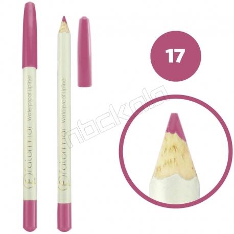 خط چشم خط لب فالورمور ضدآب شماره 17 Falormor Waterproof Eyeliner Lipliner Pencil