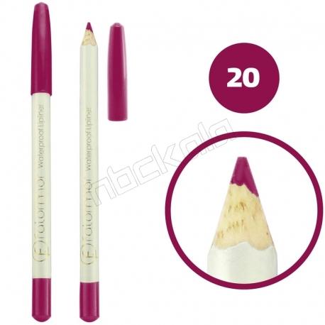 خط چشم خط لب فالورمور ضدآب شماره 20 Falormor Waterproof Eyeliner Lipliner Pencil
