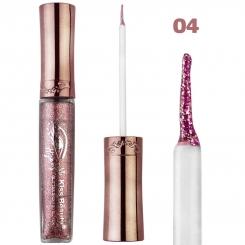 خط چشم کیس بیوتی مدل شاین اکلیلی ضدآب شماره 04 Kiss Beauty Glitter Shiny Waterproof Eyeliner