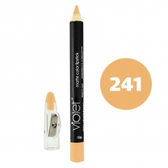 رژ لب مدادی ویولت مدل مداد خط چشم و خط لب ضدآب شماره 241 Violet Matte Lip Liner & Eye Liner Lipliner Waterproof Pencil