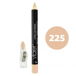 رژ لب مدادی ویولت مدل مداد خط چشم و خط لب ضدآب شماره 225 Violet Matte Lip Liner & Eye Liner Waterproof Pencil