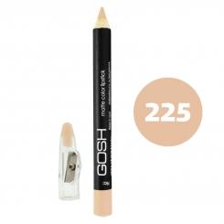 رژ لب مدادی گاش مدل مداد خط چشم و خط لب ضدآب شماره 225 Gosh Matte Lip Liner & Eye Liner Lipliner Waterproof Pencil