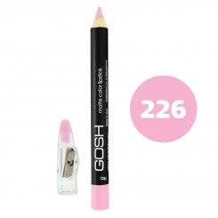 رژ لب مدادی گاش مدل مداد خط چشم و خط لب ضدآب شماره 226 Gosh Matte Lip Liner & Eye Liner Lipliner Waterproof Pencil