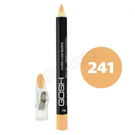 رژ لب مدادی گاش مدل مداد خط چشم و خط لب ضدآب شماره 241 Gosh Matte Lip Liner & Eye Liner Lipliner Waterproof Pencil