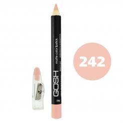 رژ لب مدادی گاش مدل مداد خط چشم و خط لب ضدآب شماره 242 Gosh Matte Lip Liner & Eye Liner Lipliner Waterproof Pencil
