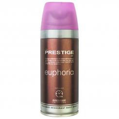 اسپری خوشبو کننده بدن پرستیژ زنانه ش 214 ایفوریا 150میل Prestige Euphoria Body Spray For Women