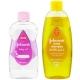 ست شامپو بچه جانسون حجم 500 میلی لیتری و روغن بچه جانسون حجم 500 میلی لیتری Johnson's baby shampoo & oil