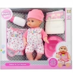عروسک خارجی نوزاد یوکوکا با قابلیت پخش صدای نوزاد مدل UKOKA BABY 8019