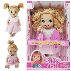 عروسک خارجی بستنی خور مدل Abby Doll موزیکال Abby Doll i love ice creem