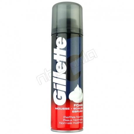 فوم اصلاح ژیلت مدل Normal حجم 200 میلی لیتر Gillette Normal Shaving Foam