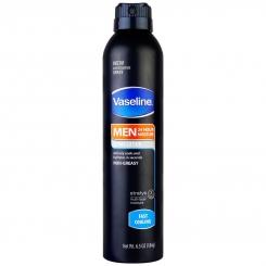 اسپری مرطوب کننده وازلین مردانه مدل خنک کننده سریع 24 ساعته 184 گرمی Vaseline Spray Lotion Fast Cooling Men 24h