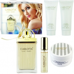 ست هدیه زنانه لاو استوری کلوئه کارلوتا ادو تویلت و لوسیون مدل CARLOTTA LOVE DIARY CHLOE