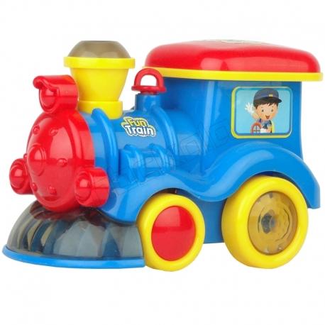 اسباب بازی قطار شادی دارای دود مدل FUN TRAIN RONG XIAN YI ZR121