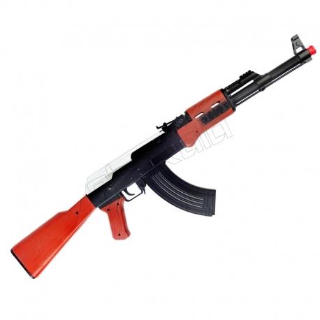 تفنگ اسباب بازی کلاشنیکف با قابلیت شلیک AK123 MUNDO GUN AK-47 kalashnikov