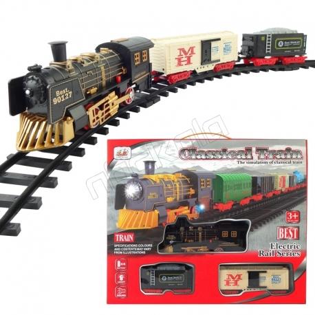 اسباب بازی قطارکلاسیک مدل classical train 6299 - 61