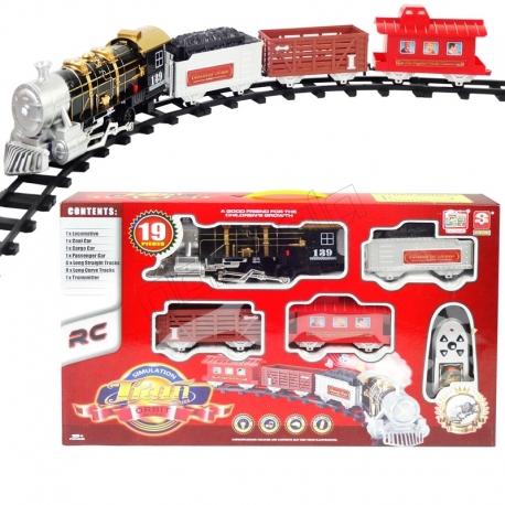 اسباب بازی قطار کنترلی دودزا و صدادار برند TIMELY مدل 3054