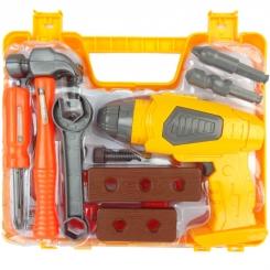 ست ابزار کار اسباب بازی کیفی باطری خورمدل 80-36778 Tools Set