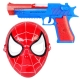 اسباب بازی تفنگ و نقاب اسپایدرمن دودزا-مرد انکبوتی SPIDER MAN 236-21A