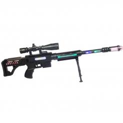 تفنگ اسباب بازی موزیکال لیزری مدل 929 Sniper Rifle Le Mei Si TOYS