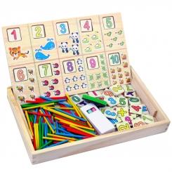 اسباب بازی تخته آموزش ریاضی و تخته سیاه اوپریشن باکس You Zai Wang Operation Box Model B